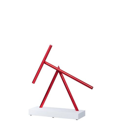 The Swinging Sticks Mini Replika - Red & White
